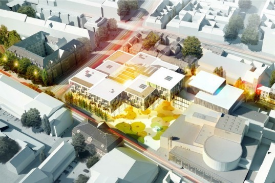Trondheim, Henning Larsen Architects, urban district, norway, sustainable design, daylighting,