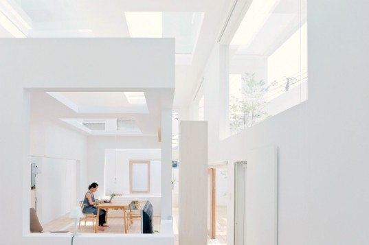 House N, Sou Fujimoto Architects, nested boxes, oita, japan, inside out house, daylighting,