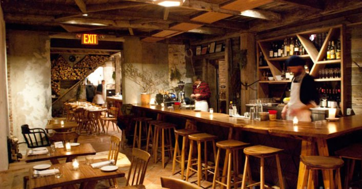 Isa is a sustainably designed eatery with primitive