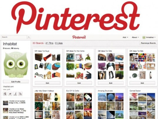 pinterest, pinning, inhabita