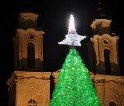 Gorgeous Green Christmas Tree is Made from 40,000 Recycled Plastic Bottles