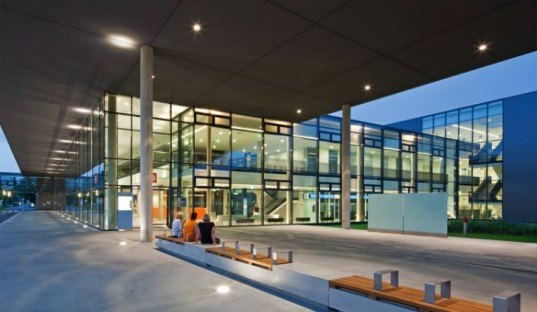 Klagenfurt Hospital, Architects Collective, klinikum klagenfurt, austria, eu green building, eco hospital, DFA