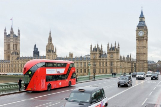 London, Routemaster, Heatherwick Studio, double-decker bus, hybrid bus, green transportation