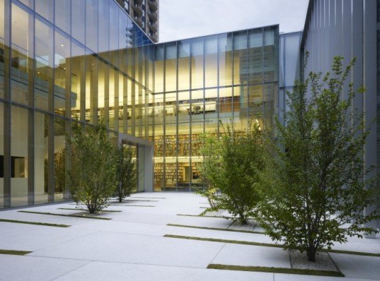 The Poetry Foundation, John Ronan, green building, rain screen, chicago, green roof, daylighting,