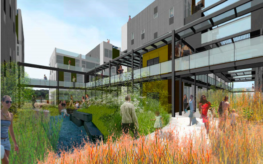 The Ridge: Net-Zero Energy Mixed-Use Passive House Project Gets ...