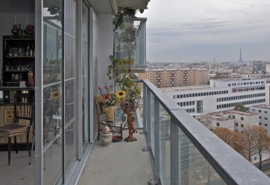 Frédéric Druot Architecture , Paris social housing,highrise renovation, french apartment green, green building redevelopment, apartment social housing retrofit,Paris green renovation, eco tower, apartment building renovation, Paris green apartment, apartment daylighting