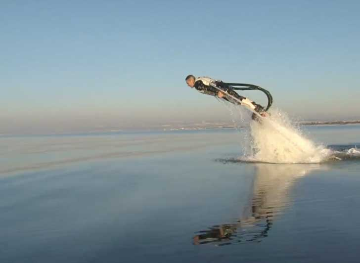 Amazing Water Powered Rocket Boots