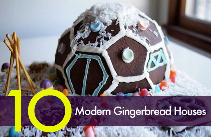 Top 10 Deliciously Modern Gingerbread Houses « Inhabitat U2013 Green Design,  Innovation, Architecture, Green Building
