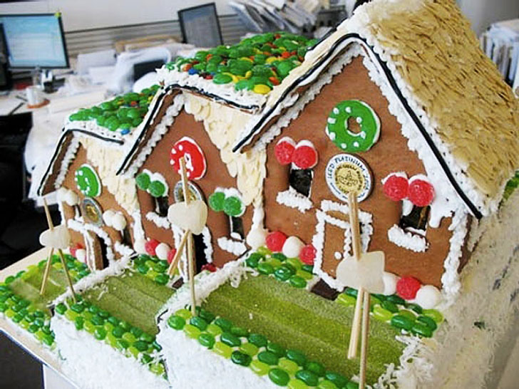 10 Architectural Gingerbread Creations from 2012 To Make You ... on german desserts, german peach tart, german christkind, german cakes, german bread, german heart, german cooking, german incense smoker houses, german holidays, german chocolate, german lebkuchen, german cookie house, german christmas houses, german nativity, old-fashioned german house,