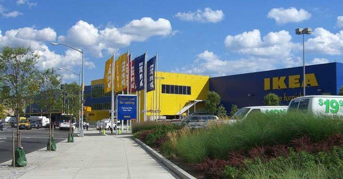 ikea in emeryville california installs four electric
