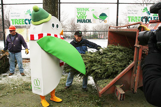 Environment - Recycle Your Christmas Tree At Mulchfest 2014! Inhabitat - Green