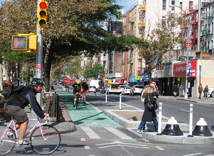 Number Of Cyclists In New York City Has Doubled Since 2007