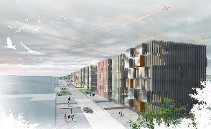 Ooiio Architecture S German Housing Project Brings Beautiful Greenery To A Former Wwii Runway