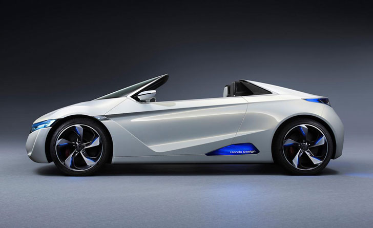 Honda Unveils Its Futuristic Ev Ster Mini Convertible At The Tokyo Auto Show