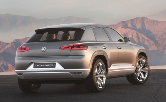 Volkswagen Cross Coupe Concept Awd Plug In Hybrid