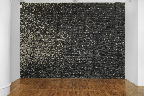 Sarah Frost Upcycles Thousands of Computer Keys Into Qwerty Wall Art ...