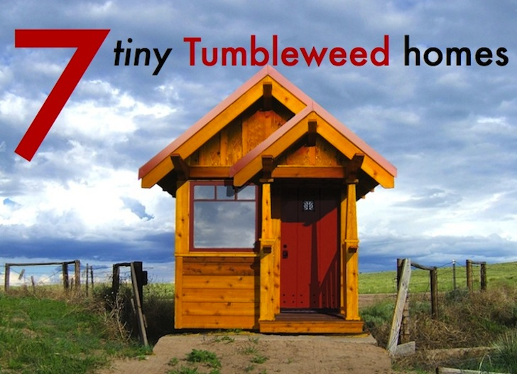 7 Teensy Tiny Tumbleweed Homes for Small Space Living Inhabitat