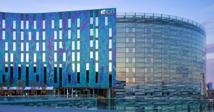 Aloft London Excel Hotel Has A Bespoke Iridescent High. Gast Und Weinhaus Burkard Hotel. Guilin Dongjiang Golf Resort Hotel. Eurostars Rio Douro Hotel And Spa. Riding Farm Hotel. Denizkizi Royal Hotel. Primi Seacastle Hotel. Melbourne Central YHA. Vincci Tenerife Golf Hotel
