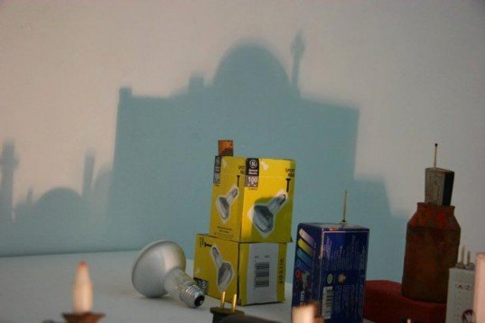 Rashad Alakbarov Creates Amazing Shadow Cities From Found