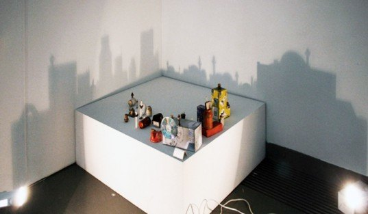 Recycled Materials, Art, Azerbaijan, Phillips de Pury & Company, shadow painting, cities shadow