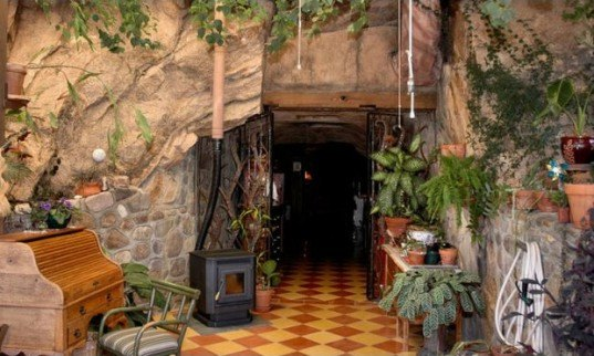 Arizona Cave, Arizona Green Home, Cave Architecture, Cave For Sale, Cave  House