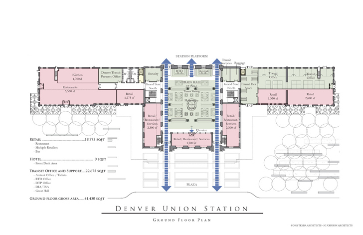 Denver union station to become leed gold transit hub and for Trademark quality homes floor plans