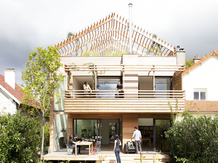 Beautiful French Prefab House by Djuric Tardio is Made Entirely of ...
