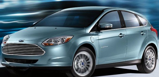 green design, eco design, sustainable design, Ford Focus Electric, Google, electric car, Nissan Leaf, 23 kwh high voltage lithium ion battery, Ford Michigan Assembly Plant, green transportation
