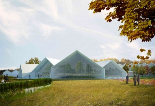 Green Solution House, 3XN, denmark, cradle 2 cradle, zero waste, green design, hotel and conference center