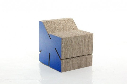 groopti, cardboard furniture, chair, table, eco, recycled, sustainable, crowd sourcing, website, low volume manufacturing, bespoke, craft, corrugate