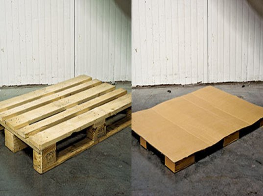 ikea swaps out wooden shipping pallets for lighter