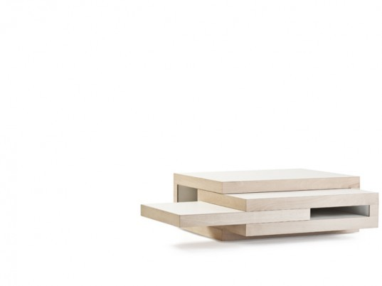 green design, eco design, sustainable design, Reinier de jong, REK table, modular furniture, modular coffee table