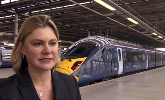 justine greening, hs2, high speed rail, hs2 england, hs2 uk, high speed rail united kindgdom