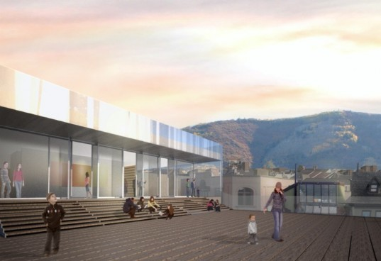 Kimball Art Center, Sparano Mooney Architecture, sparano + mooney, park city, utah, green renovation, aspens