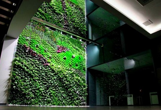 living interior gardens, indoor vertical gardens, indoor living wall, green interiors, vertical garden, living wall,