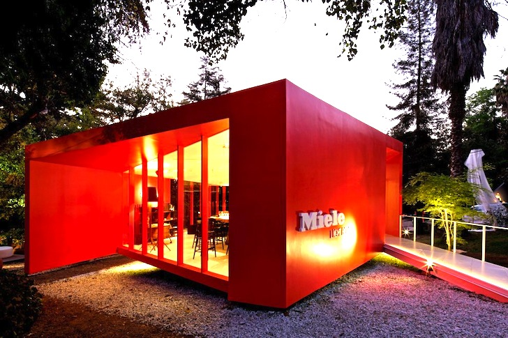 Quot Levitating Quot Red Miele Lightbox Pavilion Pops Up In Chile