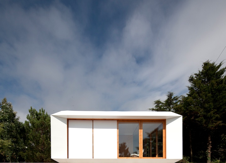 White House Fertighaus low cost mima prefab homes are modeled after minimalist