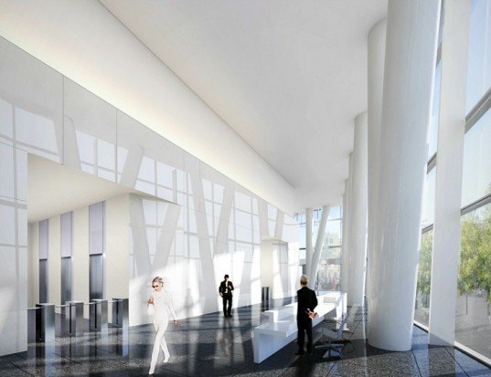 Mitikah Office Tower, Richard Meier and Partners, mexico city, high performance facade, eco tower, green design