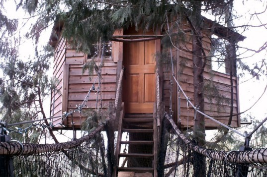 Out'n'About Treesort, Michael Garnier, treehouse, tree houses, Oregon, green design, green architecture, green resorts, bed & breakfast, hotel, eco homes