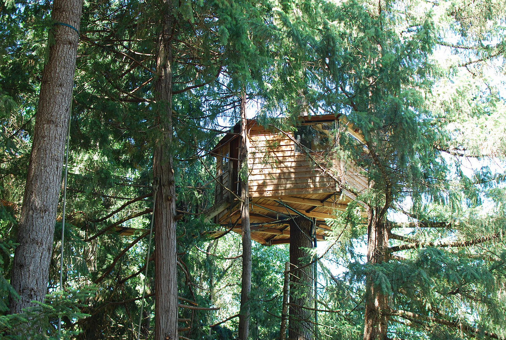 Oregon's Out'n'About Treehouse 'Treesort' has the World's ...