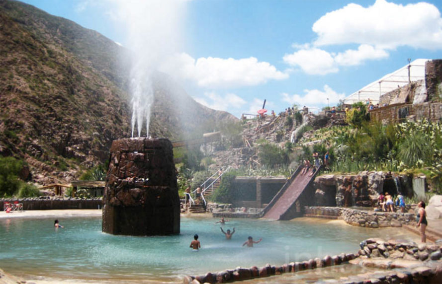 Photos Cacheuta Thermal Water Park Is A Summer Escape Wedged In Argentina S Andes Mountains