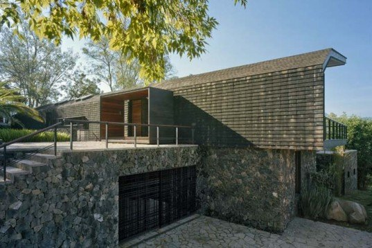 Architecture,Green Materials,Sustainable Materials,locally sourced materials,stone wall,nature views,mexican design,mexico