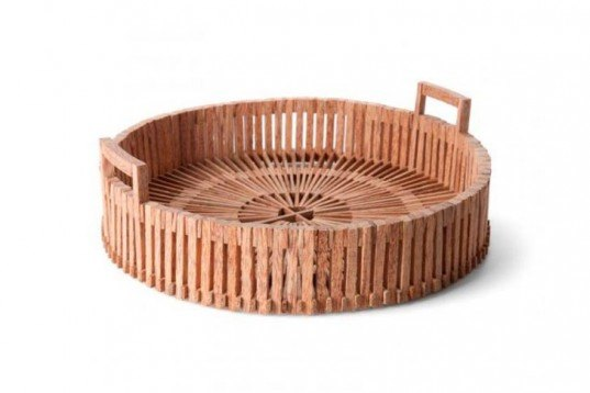 Green Products,Decorative Objects,palm wood,fair trade,vietnam,handcrafted bowls,wooden basket,fair trade originals,dutch design,recycled bread board