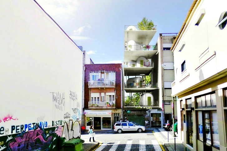 Polikatoikea Combines Small Space Living With Urban Design and an ...