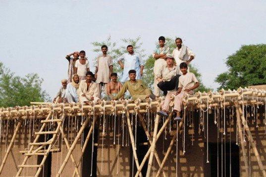 Sustainable Building,social design,Green renovation,Green Materials,Architecture,bamboo,mud,pakistan,cob,local materials,local people,locally sourced materials,