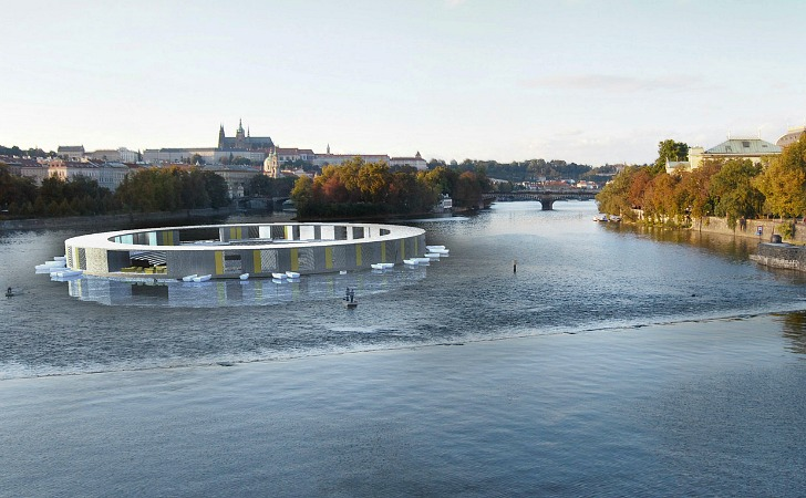 Floating Pool Could Clean the Water in Prague's Vltava River | Inhabitat -  Green Design, Innovation, Architecture, Green Building
