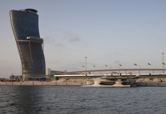 Candino, Capital Gate Tower, eco ship, green ship, lithium ion battery, Solar Abu Dhabi, solar boat, solar cruise, Solar Ship, TÛRANOR PlanetSolar, World Future Energy Summit, World's Largest Solar Boat