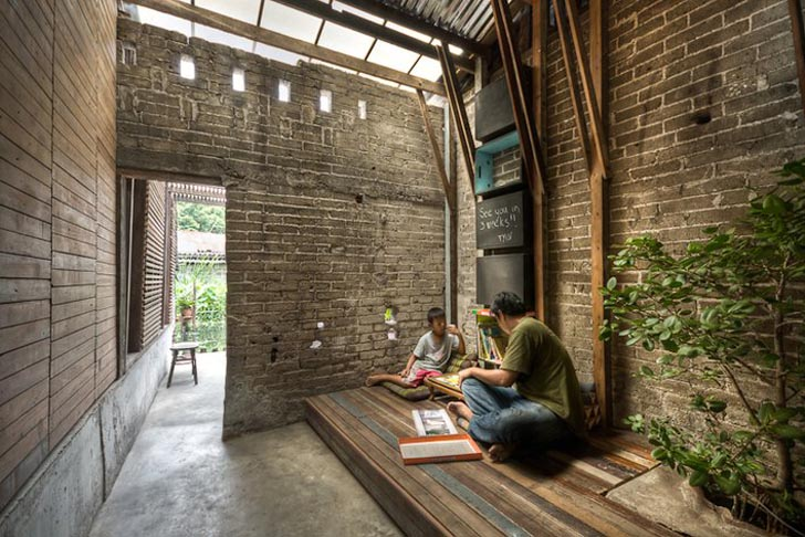 TYIN Tegnestue Architects and CASE Studio build Min Buri Old