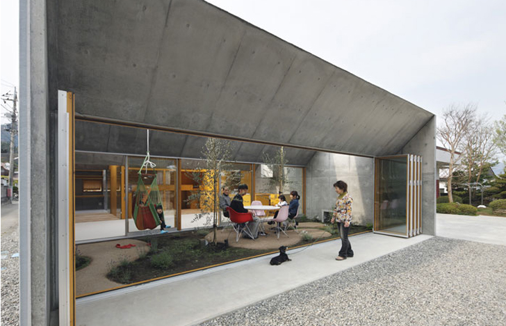 Quot Outside In House Quot By Takeshi Hosaka Brings Nature Inside
