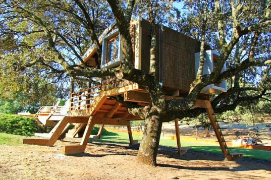 treehouse, o2 sustainability, tornado treehouse, rooted treehouse, finca bellavista, treehotel, geodesic dome, under heaven, sustainable design, green treehouse architecture